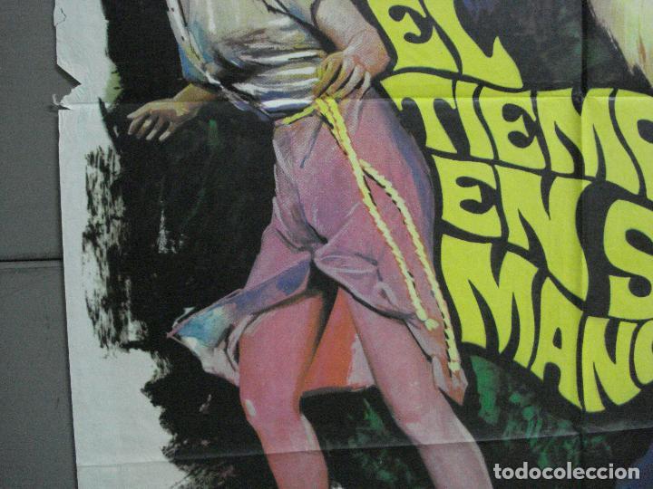 Cine: AAJ80 EL TIEMPO EN SUS MANOS ROD TAYLOR GEORGE PAL MAC POSTER ORIGINAL 70X100 ESTRENO - Foto 4 - 205807758