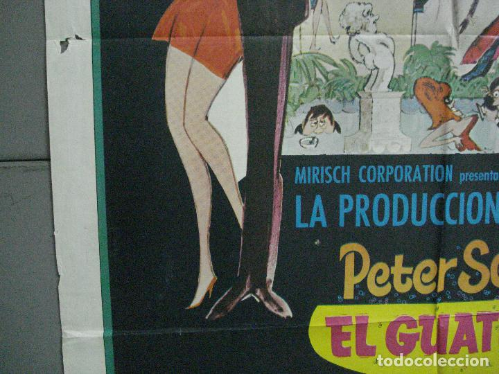 Cine: AAJ83 EL GUATEQUE PETER SELLERS POSTER ORIGINAL 70X100 ESTRENO - Foto 4 - 205808730