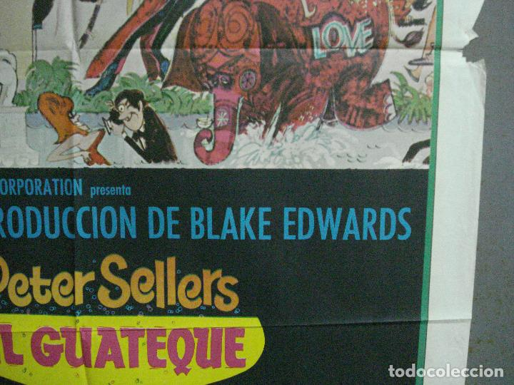 Cine: AAJ83 EL GUATEQUE PETER SELLERS POSTER ORIGINAL 70X100 ESTRENO - Foto 8 - 205808730