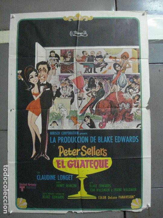 AAJ83 EL GUATEQUE PETER SELLERS POSTER ORIGINAL 70X100 ESTRENO (Cine - Posters y Carteles - Comedia)