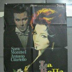 Cine: AAJ87 LA BELLA LOLA SARA MONTIEL MAC POSTER ORIGINAL 70X100 ESTRENO. Lote 205810055