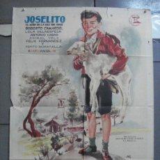 Cine: CDO 2774 EL RUISEÑOR DE LAS CUMBRES JOSELITO JANO POSTER ORIGINAL 70X100 ESTRENO. Lote 205820033