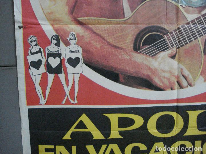 Cine: CDO 2792 APOLO EN VACACIONES CINE GRIEGO POSTER ORIGINAL 70X100 ESTRENO - Foto 4 - 205829633