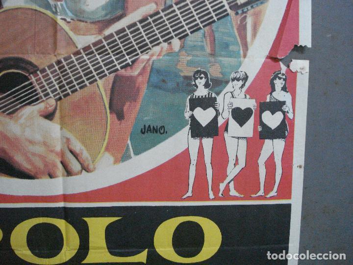 Cine: CDO 2792 APOLO EN VACACIONES CINE GRIEGO POSTER ORIGINAL 70X100 ESTRENO - Foto 8 - 205829633