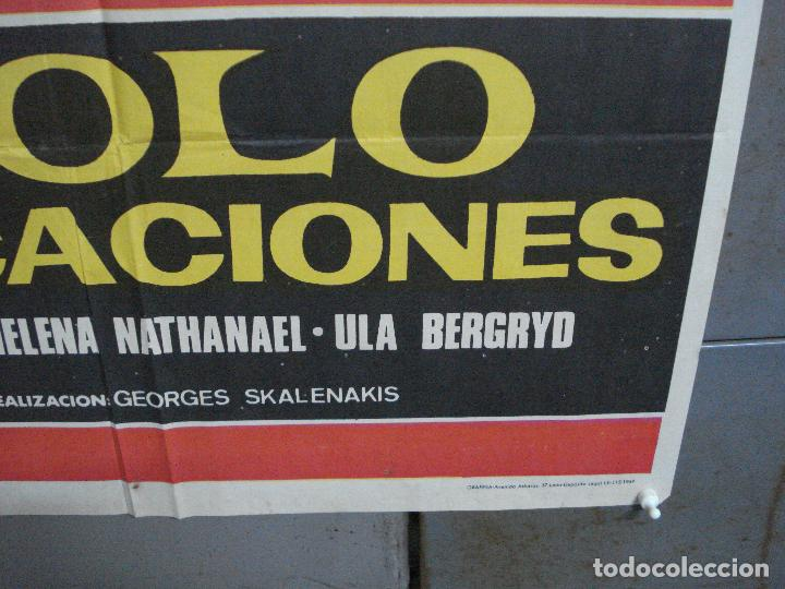 Cine: CDO 2792 APOLO EN VACACIONES CINE GRIEGO POSTER ORIGINAL 70X100 ESTRENO - Foto 9 - 205829633