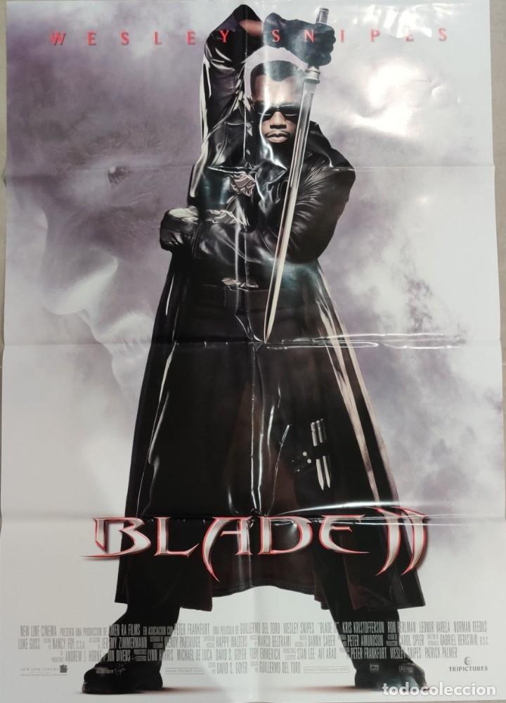BLADE II (2002) POSTER 96 X 68 (Cine - Posters y Carteles - Ciencia Ficción)