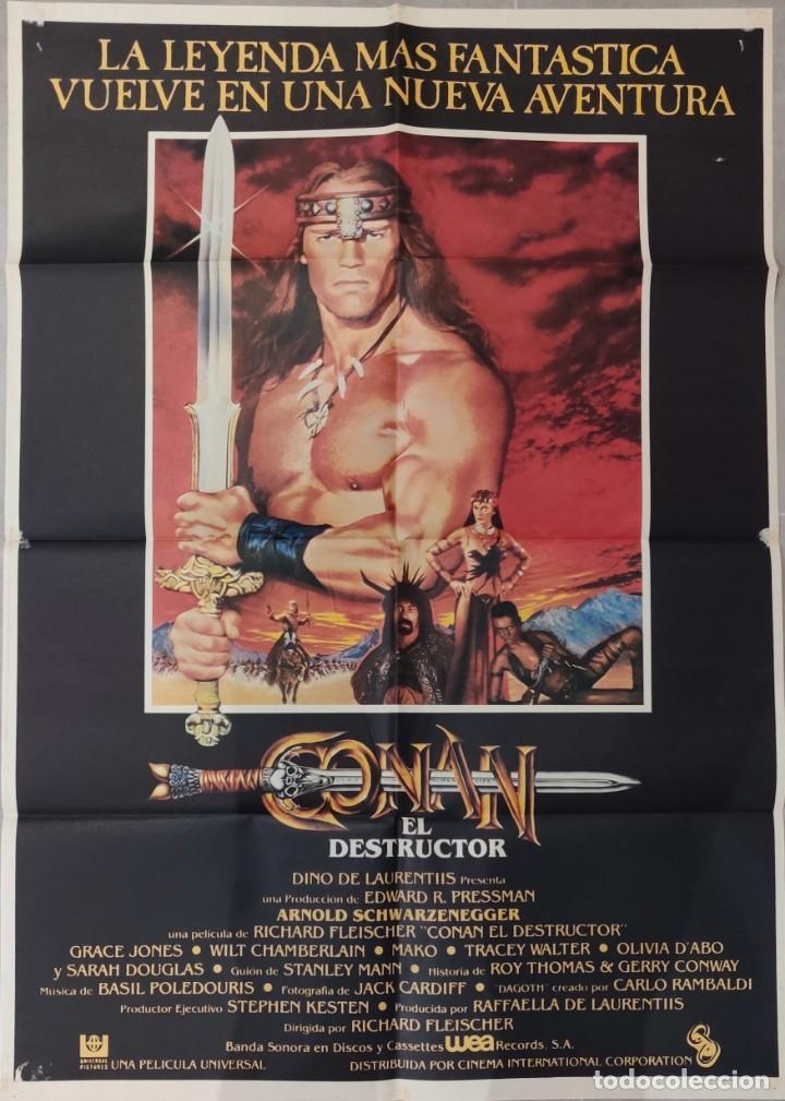 CONAN, EL DESTRUCTOR (1984) (Cine - Posters y Carteles - Ciencia Ficción)