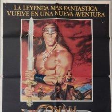 Cinéma: CONAN, EL DESTRUCTOR (1984). Lote 205836752