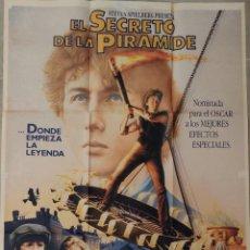 Cine: EL SECRETO DE LA PIRÁMIDE (1986-STEVEN SPIELBERG). Lote 205837922