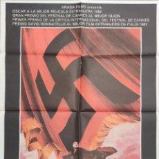 Cine: MEPHISTO (1981). PÓSTER 100 X 70 CTMS.. Lote 205843045