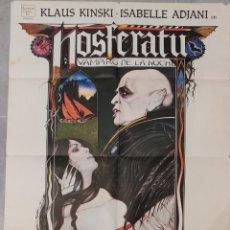 Cine: NOSFERATU(1979). PÓSTER 100 X 70 CTMS.. Lote 205845022