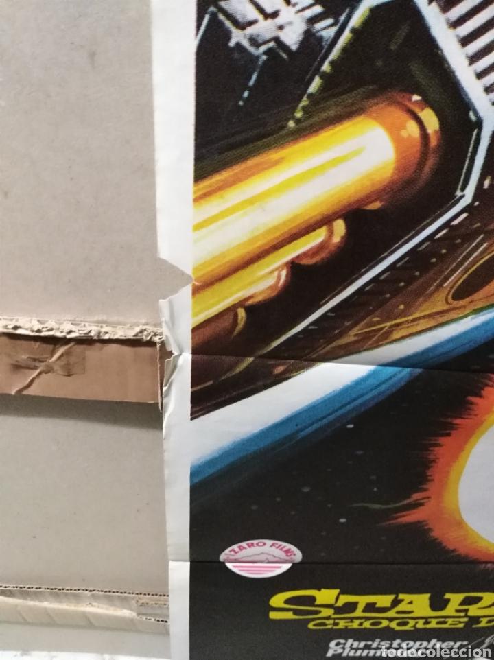 Cine: STAR CRASH CHOQUE DE GALAXIAS CAROLINE MUNRO POSTER ORIGINAL 70X100 Q - Foto 2 - 205898032