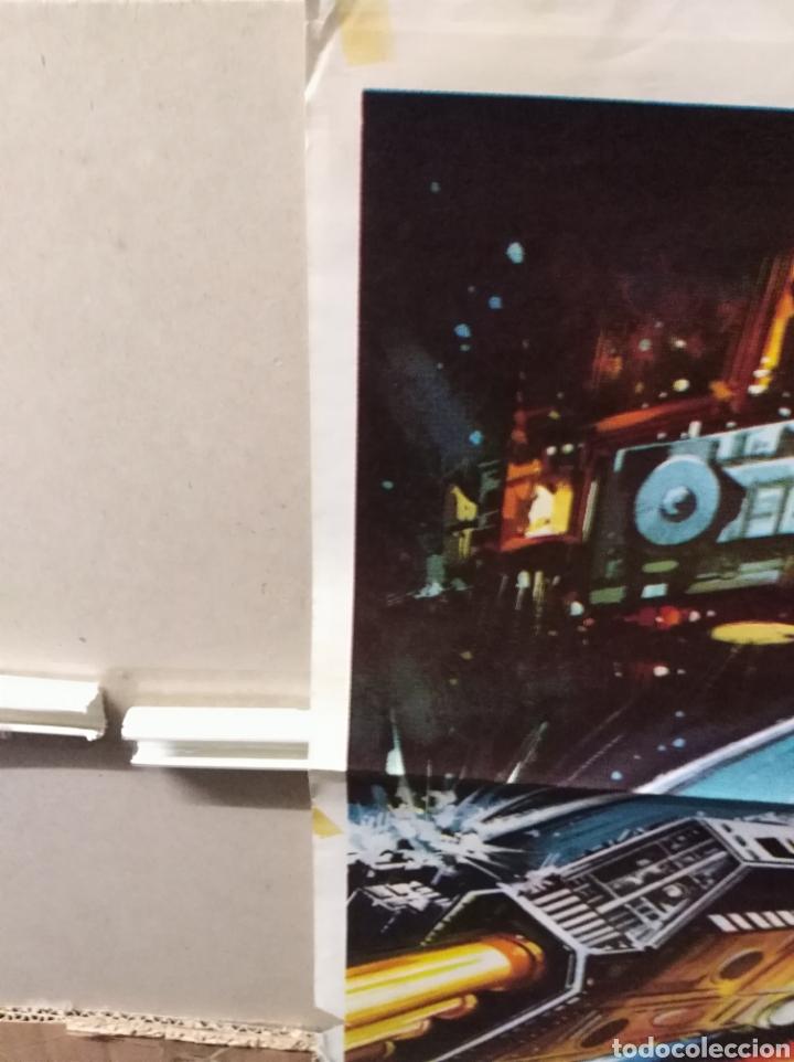 Cine: STAR CRASH CHOQUE DE GALAXIAS CAROLINE MUNRO POSTER ORIGINAL 70X100 Q - Foto 6 - 205898032