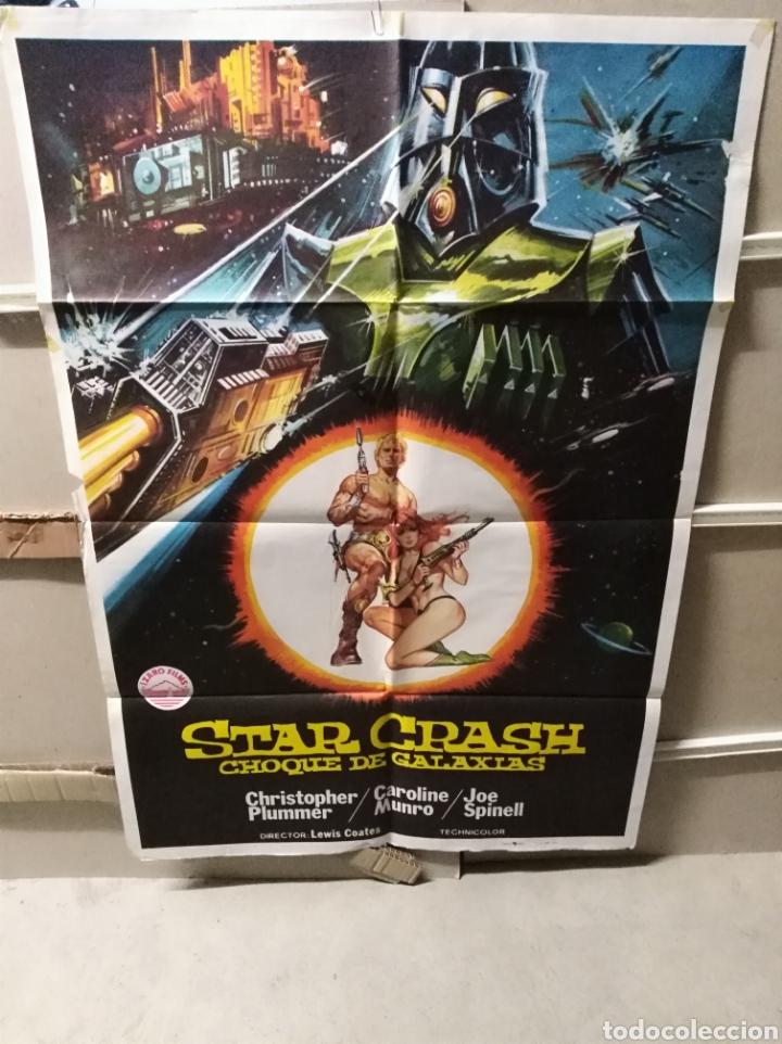 STAR CRASH CHOQUE DE GALAXIAS CAROLINE MUNRO POSTER ORIGINAL 70X100 Q (Cine - Posters y Carteles - Ciencia Ficción)
