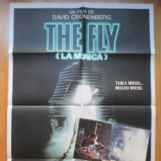 Cine: CARTEL + 11 FOTOCROMOS THE FLY LA MOSCA 1986 CCF11. Lote 205996246