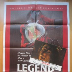Cine: CARTEL + 12 FOTOCROMOS LEGEND TOM CRUISE 1985 CCF13. Lote 206067178