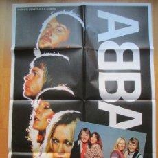 Cine: CARTEL + 6 FOTOCROMOS ABBA EL GRAN ESPECTACULO 1978 CCF15. Lote 206117262