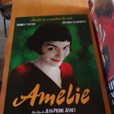 Cine: PÓSTER DE AMELIE, 98 X 68 CM, SE ENVÍA EN UN TUBO DE CARTÓN. Lote 257758340