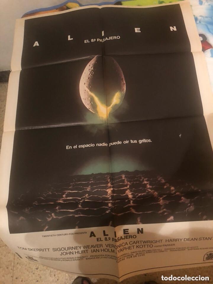 CÀRTEL. ÀLIEN. EL 8 PASAJERO (Cine - Posters y Carteles - Ciencia Ficción)