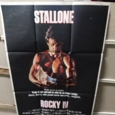 Cine: ROCKY IV SYLVESTER STALLONE POSTER ORIGINAL 70X100 Q. Lote 206185165
