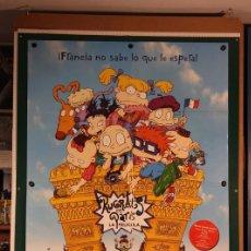 Cine: RUGRATS EN PARÍS STIG BERGQVIST , PAUL DEMEYER 2000. Lote 206226323