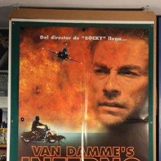 Cine: VAN DAMME'S INFERNO JOHN G. AVILDSEN 1999. Lote 206226348