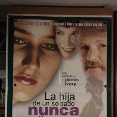 Cine: HIJA DE UN SOLDADO NUNCA LLORA, LA JAMES IVORY 1998. Lote 206226382