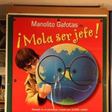 Cine: MANOLITO GAFOTAS EN MOLA SER JEFE JOAN POTAU 2000. Lote 206226388