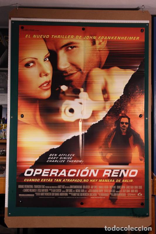 OPERACIÓN RENO JOHN FRANKENHEIMER 2000 (Cine - Posters y Carteles - Acción)