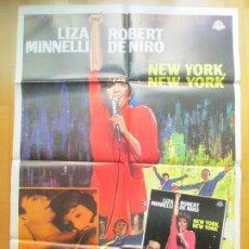 Cine: CARTEL + 12 FOTOCROMOS NEW YORK, NEW YORK LIZA MINNELLI ROBERT DE NIRO 1977 CCF22. Lote 206332968