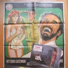 Cine: CARTEL + 12 FOTOCROMOS PERFUME DE MUJER VITTORIO GASSMAN 1975 CCF23. Lote 206333337