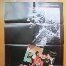 Cine: CARTEL + 12 FOTOCROMOS EL SARGENTO DE HIERRO CLINT EASTWOOD 1987 CCF26. Lote 206334988
