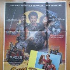 Cine: CARTEL + 12 FOTOCROMOS GUERREROS DEL ESPACIO 1984 CCF28. Lote 206335551