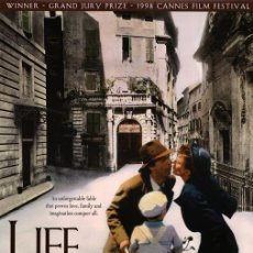 Cine: LA VIDA ES BELLA (POSTER). Lote 206365312