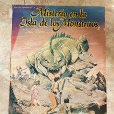 Cine: POSTER ORIGINAL MISTERIO EN LA ISLA DE LOS MONSTRUOS- JUAN PIQUER SIMON. Lote 206565033