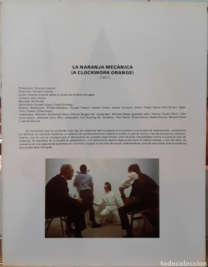 Cine: Lamina cartel de cine la naranja mecánica 1971 - Foto 2 - 206789573