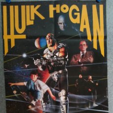 Cine: SUBURBAN COMMANDO HULK HOGAN. POSTER ORIGINAL. Lote 206793836