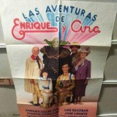 Cine: LAS AVENTURAS DE ENRIQUE Y ANA POSTER ORIGINAL 70X100 YY (2312). Lote 206904726