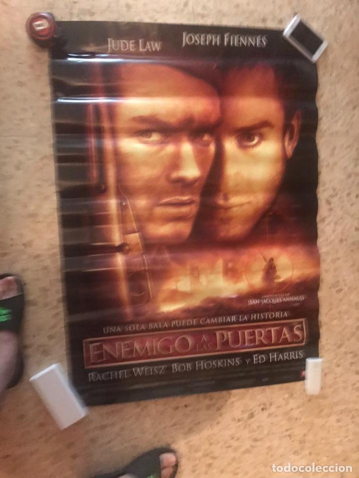Cine: Cartel original de cine Enemigo a las puertas(2001). Medidas 70x100 - Foto 2 - 206945158