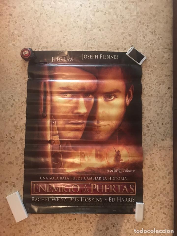 CARTEL ORIGINAL DE CINE ENEMIGO A LAS PUERTAS(2001). MEDIDAS 70X100 (Cine - Posters y Carteles - Bélicas)