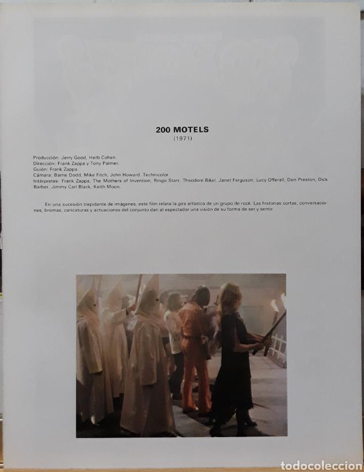 Cine: Lamina cartel de cine 200 motels frank zappas 1971 - Foto 2 - 233087200