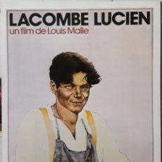 Cine: LAMINA CARTEL DE CINE LACOMBE LUCIEN LOUIS MALLE 1973. Lote 206953223