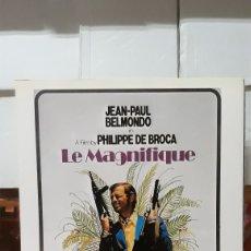 Cine: LAMINA CARTEL DE CINE LE MAGNIFIQUE PHILLIPE DE BROCA 1973. Lote 206955338