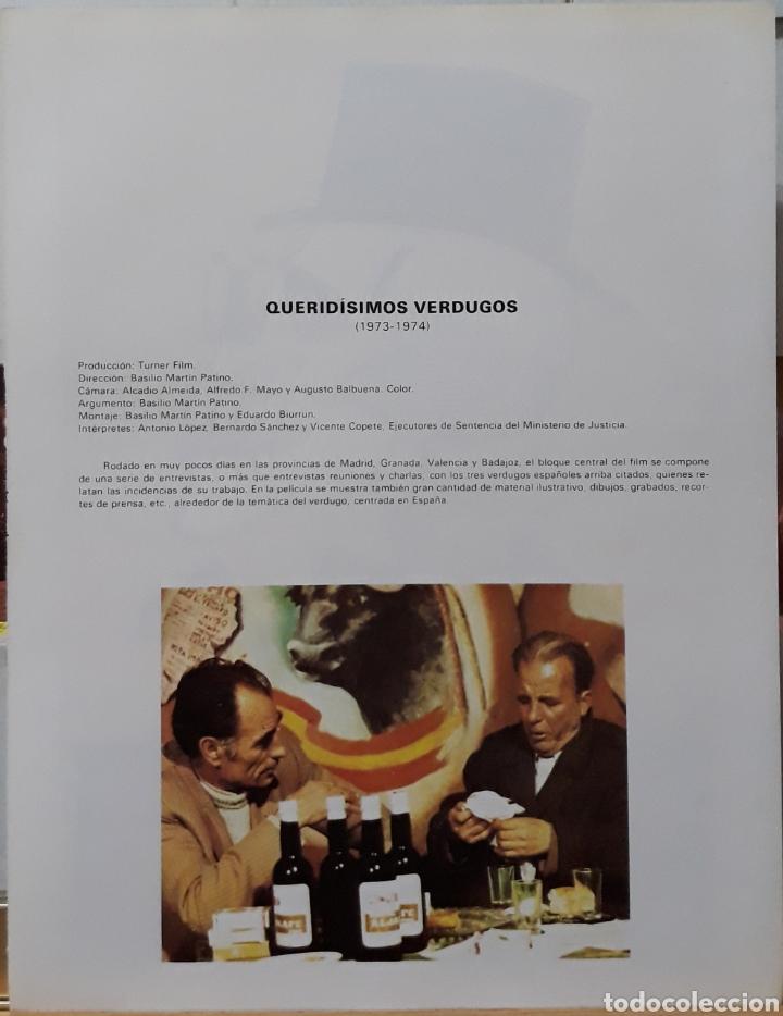 Cine: Lamina cartel de cine queridimos verdugos basilio Martín 1973 - Foto 2 - 206956227