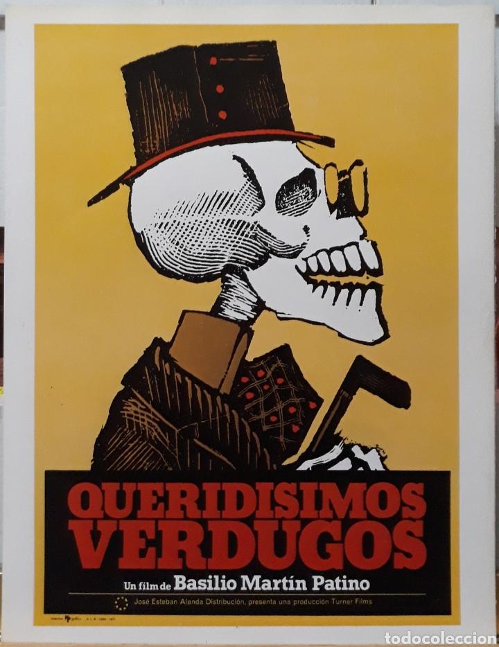 LAMINA CARTEL DE CINE QUERIDIMOS VERDUGOS BASILIO MARTÍN 1973 (Cine - Posters y Carteles - Suspense)