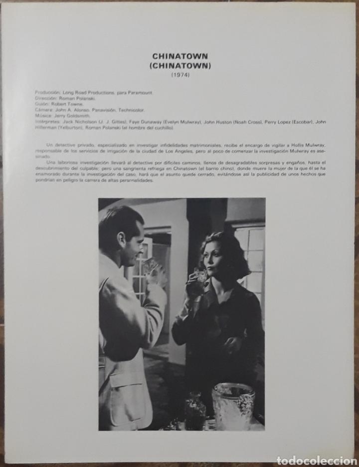 Cine: Lamina cartel de cine chinatown roman polanski 1974 - Foto 2 - 206966311