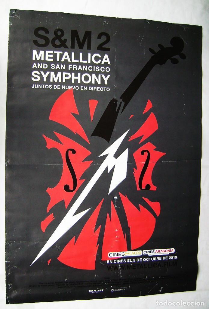 METÁLICA, CONCIERTO EN SAN FRANCISCO. POSTER DE 2019, 69,5 X 99,5 CMS.. (Cine - Posters y Carteles - Musicales)