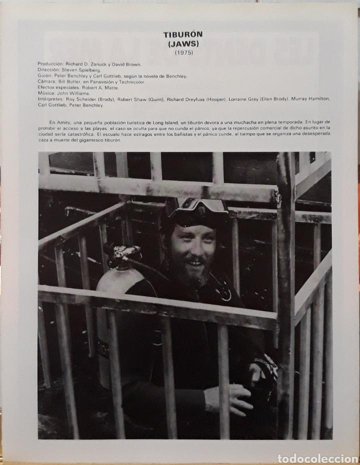 Cine: Lamina cartel de cine tiburón les dents de la mer steven spielberg 1975 - Foto 2 - 206997312