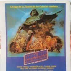 Cinema: LAMINA CARTEL DE CINE STAR WARS II EL IMPERIO CONTRAATACA IRVIN KERSHNER 1980. Lote 206998465