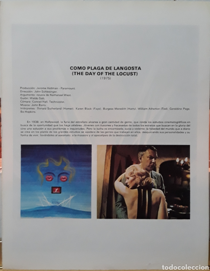 Cine: Lamina cartel de cine como plaga de langostas 1975 - Foto 2 - 207003885